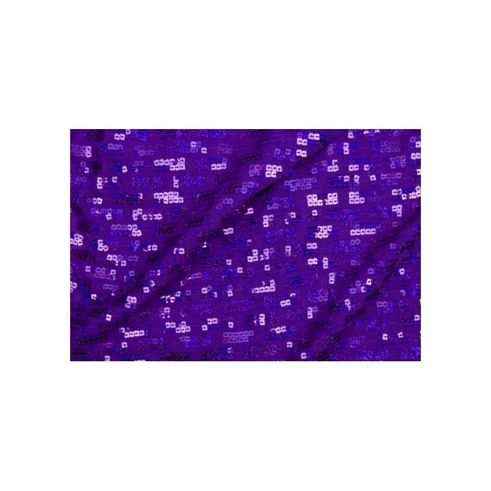 Matrix Sequins Mesh - purple