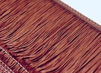 frędzle 15,30,45cm  DSI - pale turkus