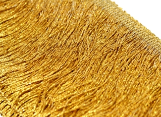 Frędzle metallic DSI - gold