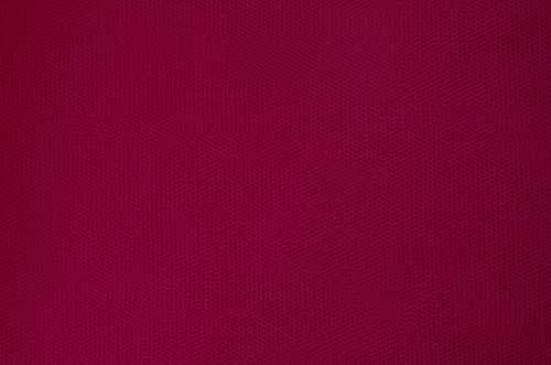 tiul miękki  - burgundy DSI