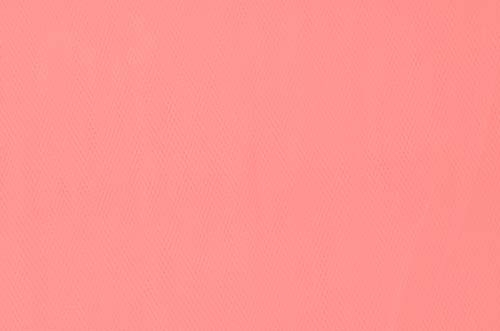 tiul miękki  - coral (peach) DSI
