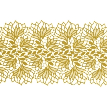 Emily Lace Ribbon - gold