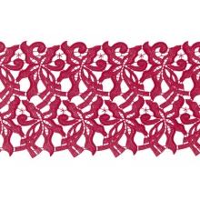 Claire Lace Ribbon - flamenco
