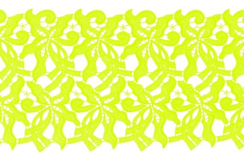 Claire Lace Ribbon - lime