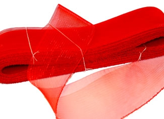 crinoline 75mm - scarlet