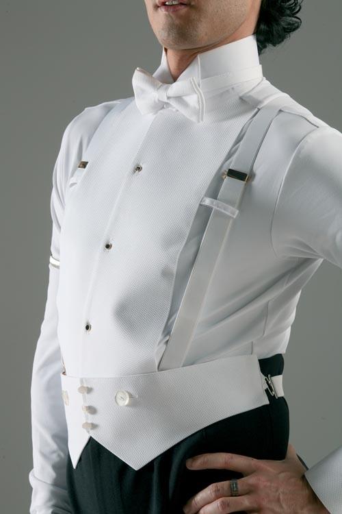 Koszula Stretch - white