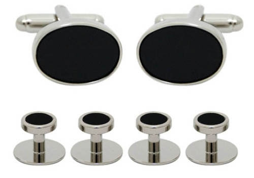 Silver classic - black onyx