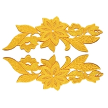 Madonna Lace Pair - fluorescent red