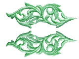 Heartleaf Lace Pair - gold