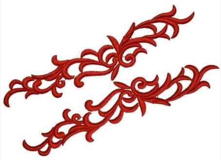 Petunia Lace Pair - white