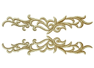 Petunia Lace Pair - jade