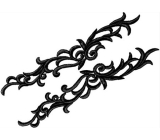 Petunia Lace Pair <span class='shop_red small'>(blueberry)</span>