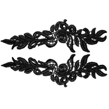 Phoenix Lace Pair - red