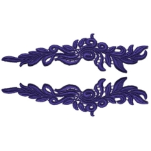 Phoenix Lace Pair - black