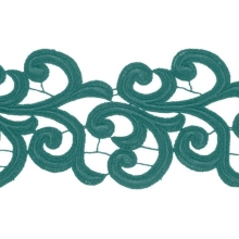 Nadine Lace Ribbon - jade
