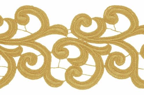 Nadine Lace Ribbon - gold