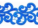 Nadine Lace Ribbon - ocean blue