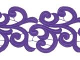 Nadine Lace Ribbon - purple