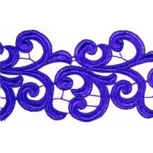 Nadine Lace Ribbon - sapphire