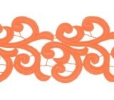 Nadine Lace Ribbon <span class='shop_red small'>(orange)</span>