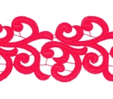Nadine Lace Ribbon <span class='shop_red small'>(scarlet)</span>
