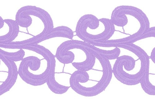 Nadine Lace Ribbon - lilac