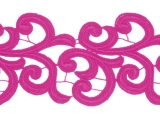 Nadine Lace Ribbon - hawaiian pink
