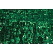 Frędzle cekinowe DSI - emerald