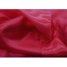 crystal organza CHR-C - cherry red CHR
