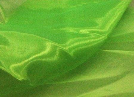 crystal organza CHR-C - fluorescent green CHR