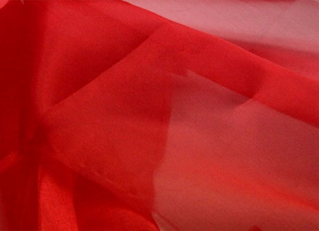crystal organza CHR-C - red CHR