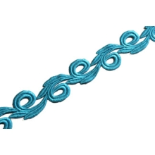 Galia Lace Ribbon CHR-C - hawaii blue