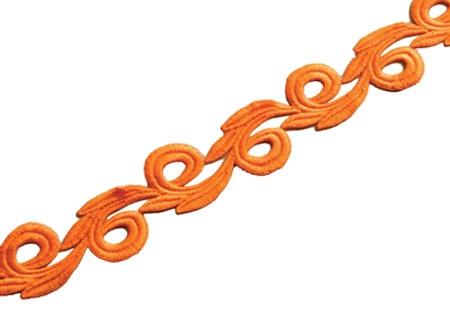 Galia Lace Ribbon CHR-C - mango