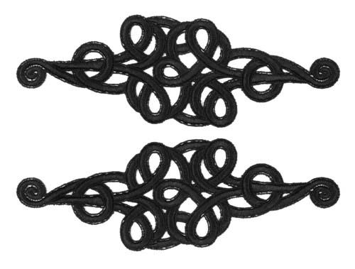 frędzle 30cm CHR-C