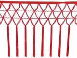 knotted crocher frędzle 30cm CHR-C