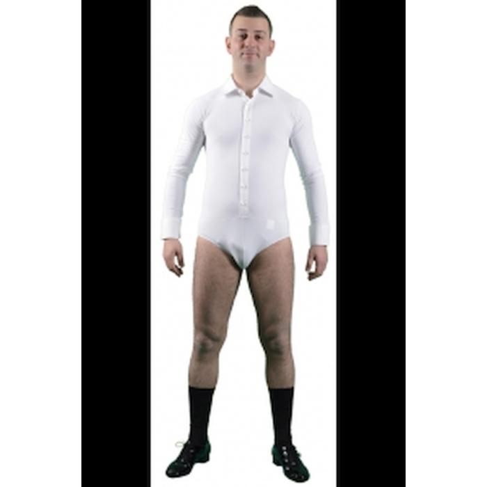 Koszula Męska z Kołnierzykiem - biały