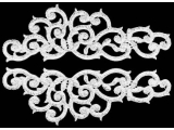 Lisa Lace Pairs - silver