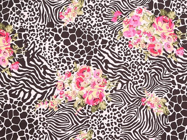 Wildereness Animal Print/Luxury Crepe