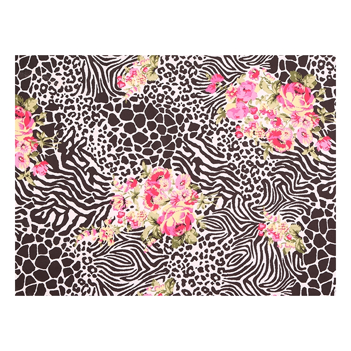 Wildereness Animal Print/Luxury Crepe