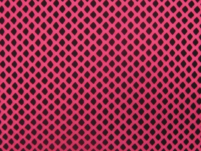 fish net (siatka) CHR - fluorescent pink