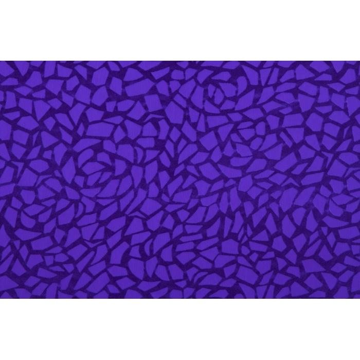 Vogue burnt-out Velvet  - purple