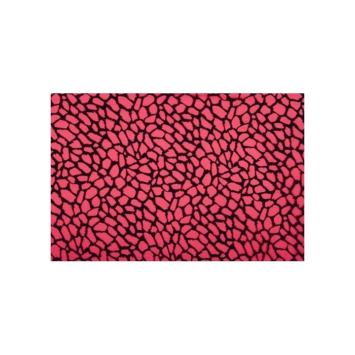 Grid Mesh - scarlet-black