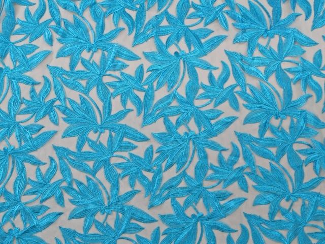 Helena Embroidered Net SALE! - black