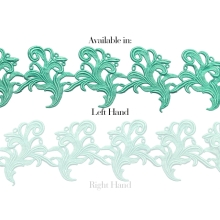 Tamara Ribbon Lace Left* - spearmint
