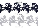 Tamara Ribbon Lace Left - jade