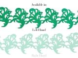 Tamara Ribbon Lace Left - cool aqua