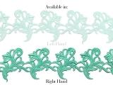 Tamara Ribbon Lace Right - aquamarine