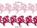 Tamara Ribbon Lace Right - salmon