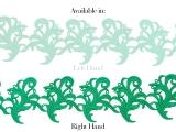 Tamara Ribbon Lace Right - spearmint