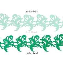 Tamara Ribbon Lace Right - spearmint